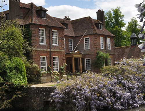 Visit Groombridge Place near Tunbridge Wells
