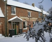 Wadhurst Castle Cottage in the Snow